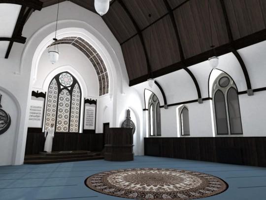 Prayer Hall Restoration